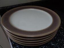 DENBY TRUFFLE SMALL DINNER PLATES X 5