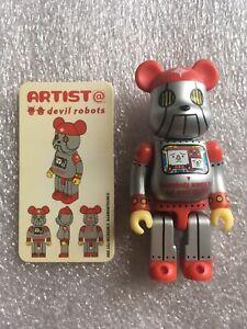 Devil Robots Bearbrick Series 3 100% Be@rbrick Medicom Toy Artist
