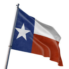 3'x5' Polyester TEXAS STATE FLAG Lone Star TX USA Grommets Red White Blue Banner