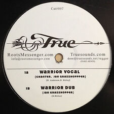 "Vinyl 12"" Maxi Single von: Chanter, Jah Grasshopper mit dem Titel: Warrior"