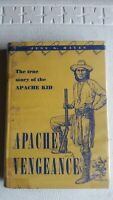 Apache Vengeance Jess Hayes 1954 1st Edition