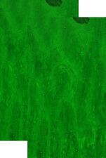 Transparent Stained Glass Sheets 100x200x3mm - x 2 Sheets (150-1) Green