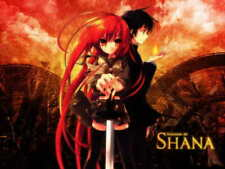 20445 Shakugan no Shana Anime LAMINATED POSTER FR