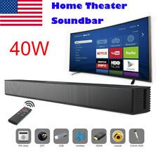 Powerful TV Home Theater Soundbar Bluetooth Sound Bar Speaker System w/Subwoofer