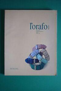 L'Orfebrería Italiano N.4/1996 Relojes Mensile Por Información Orfebrería