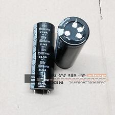 1pcs ELNA HIFI Audio Power Amplifier Filter Capacitor 100V 15000uF 35*80 #J242