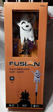 "Solar Led Ghost Bubble Stick Fusion 17934 37"" Tall 8 Hour Run Time 4 Lumens 9O"