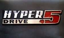 Hyper Drive Star Wars Car Emblem - Chrome Plastic Not a Decal / Sticker