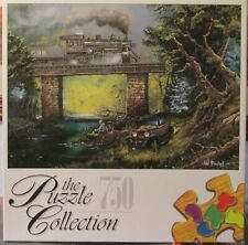 RAILS ON DOGWOOD CREEK BY TED BLAYLOCK - Complete -  PUZZLE