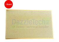 Copper stripboard 100 x 160mm 38 strip x 61 hole prototype vero board gold-plate
