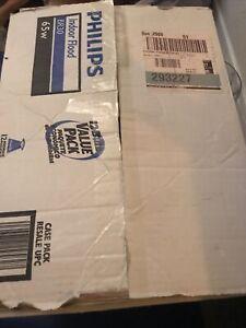 12 Pack Philips Soft White 65W BR30 Indoor Flood Light Bulb Medium Base