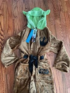 Baby Yoda Bath Robe Childs Size 12