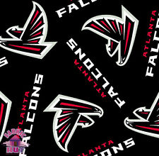 Atlanta Falcons NFL Fleece Fabric 6236 D