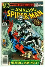 Amazing Spider-Man #190 Nm- 9.2 John Byrne Art Man-Wolf Comic 1979