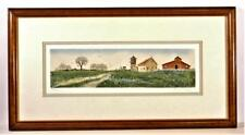 "T. Sheldon Signed Limited Edition Lithograph 428/450 ""Season's End"""