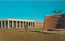 LAMAR  COLORADO LAMAR COMMUNITY COLLEGE POSTCARD c1960s