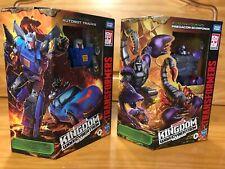 Lot (2) Tracks & Scorponok generations WFC kingdom transformers beast wars NEW