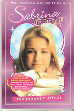 # 505 SABRINA THE TEENAGE WITCH PAPERBACK : BECOMING A WITCH W/COLOR PHOTOS 1997