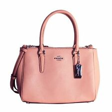 Coach F44962 Leather Mini Surrey Carryall- Petal