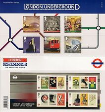 GB Presentation Pack  480 LONDON UNDERGROUND 2013 inc m/s 10% off any 5+