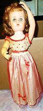 Vintage Doll Walking Ballerina Holiday Valentine 16Vw 1957 Clothing