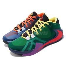 Nike Zoom Freak 1 MULTI EP Greek Giannis Green Blue Men Basketball CW3202-800