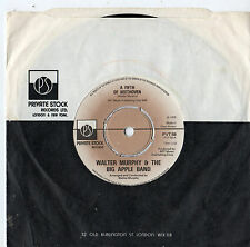 """Walter Murphy - A Fifth of Beethoven 7"""" Single 1976"""