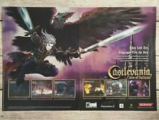 Castlevania Curse Of Darkness Xbox Playstation 2 Page PS2 Promo Ad Print Poster