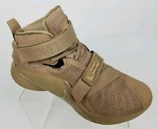Nike Lebron Soldier IX 9 Mens Basketball Shoes Desert Camo Tan 749490-222 Sz 10
