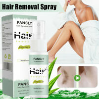 PANSLY 100% Natural Permanent Hair Removal Spray&Hair Growth Inhibitor Powerful