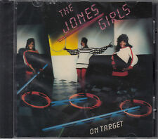 On Target by The Jones Girls (CD, Aug-2011, Funky Town Grooves) NEW SS
