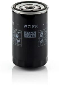 Mann-filter Oil Filter W719/36 fits LAND ROVER DISCOVERY L319 4.0 V6 4x4