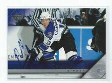 Mike Cammalleri Signed 2004/05 Upper Deck Card #339