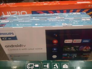 Philips 5000 series 43 in UHD Smart TV - Black