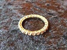 Ancienne bague en or 18 K -  23 diamants 0,05 carats