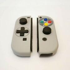 Switch Joy Con SNES Custom Pair - Super Nintendo D-Pad Version - UK Seller