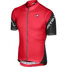 CASTELLI ENTRATA 3 JERSEY MEN'S LARGE RED NEW