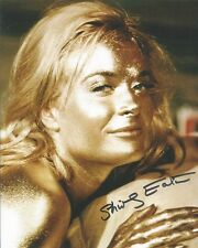 Shirley Eaton Goldfinger James Bond autographed 8x10 photo with COA by CHA