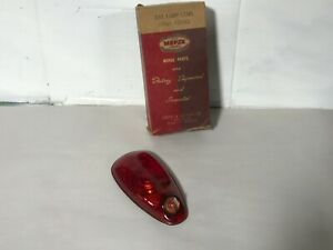 1939 PLYMOUTH NEW OLD STOCK MOPAR GLASS TAILLIGHT LENS 39