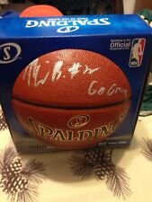 Miles Bridges Autographed Official Spalding Basketball Michigan State Hornets Co