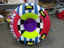 My Fun Inflatable Towable Tube Water tubing for boat, Jet ski, Ski tube, tubing