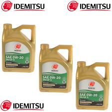 3x 5QT 0W-20 Full Synthetic Engine Motor Oil For Acura Honda Mazda Mitsubishi