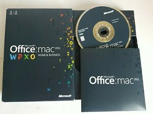 Microsoft Office MAC 2011 Home and Business W/ Product Key Code