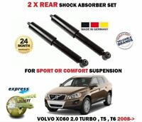 FOR VOLVO XC60 2.0 T T5 3.0 T6 AWD 2008-> 2X REAR SHOCK ABSORBER SHOCKER SET
