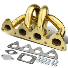 Fit 1993-2001 Honda Prelude H22 Engine Bottom Mount T3 Turbo Manifold+38mm Port