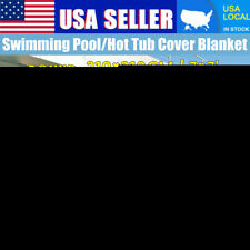 83' Round Swimming Pool Solar Blanket Cover Spa Protector Outdoor 2.1M*2.1M