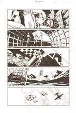 Establishment #7 p.13 - Shuttle - 'Walking Dead' Artist - 2002 by Charlie Adlard Comic Art