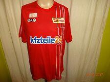 "1.fc Unión berlín original u23 matchworn camiseta 10/11 ""kfzteile 24"" + nº 3 talla XL"