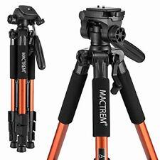 Mactrem PT55 Travel Camera Tripod Lightweight Aluminum for DSLR SLR Canon Nik...