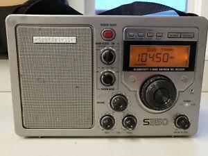 Grundig S350 HIGH SENSITIVITY PORTABLE AM/SW/FM RADIO STEREO RECEIVER
